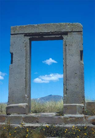Tiahuanaco Doorway